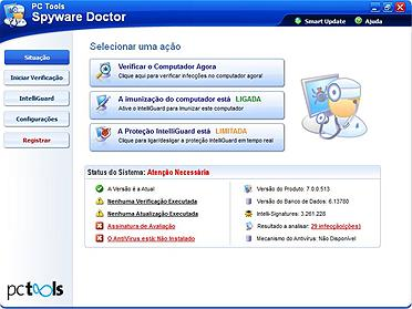 Vasculhe pragas digitais e desinfecte o PC com o Spyware Doctor